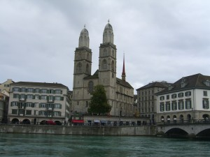 Blick auf Zürich